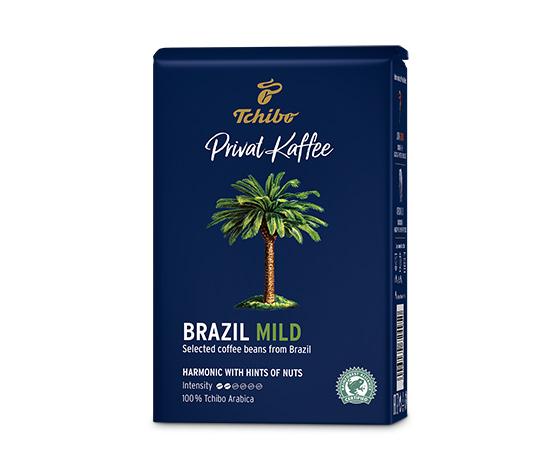Privat Kaffee Brazil Mild – zrnková káva