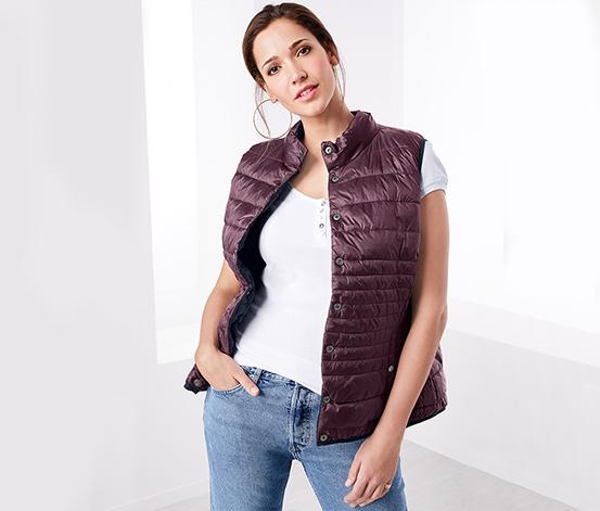 Oboustranná prošívaná vesta